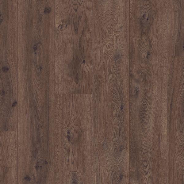 Schokoladen Eiche - Pergo Long Plank Laminat zum Klicken 9,5 mm