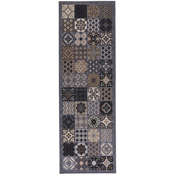 Fußmatte Cock & Wash Patchwork 150 x 50 cm Indoor