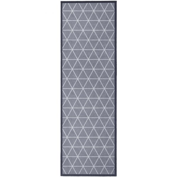 Fußmatte Cock & Wash Triangle Grey 150 x 50 cm Indoor