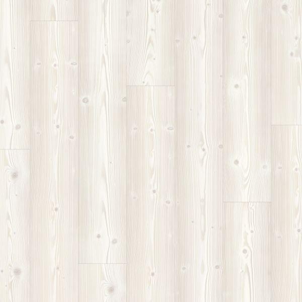 Weiße Kiefer Nordisch - Modern Plank Vinyl zum Klicken & Kleben