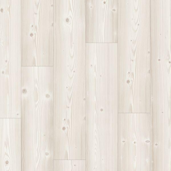 Gebürstete Weiße Kiefer - Pergo Sensation Laminat zum Klicken 8 mm