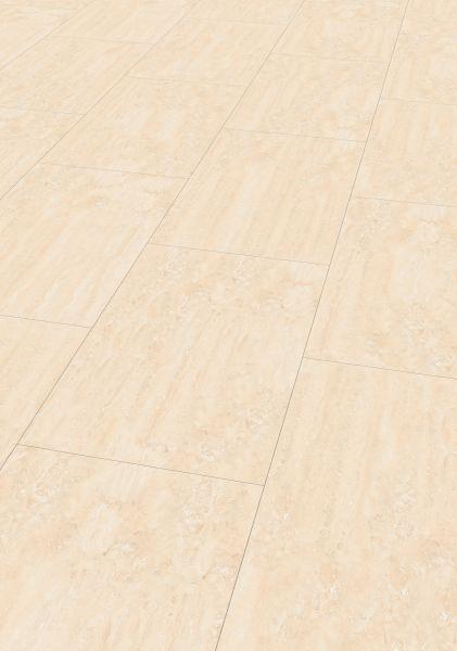 Marmor Crema - JAVA Mineral-Designboden zum Klicken 7,5 mm