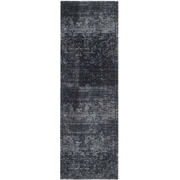 Fußmatte Cock & Wash Velvet Anthrazit 150 x 50 cm Indoor