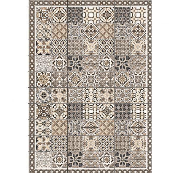 Fußmatte Smuq Porto 140 x 200 cm In- & Outdoor