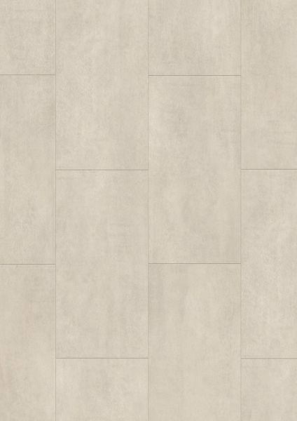 Beton Hellgrau - Tile/Stone Rigid-Vinyl zum Klicken 5 mm