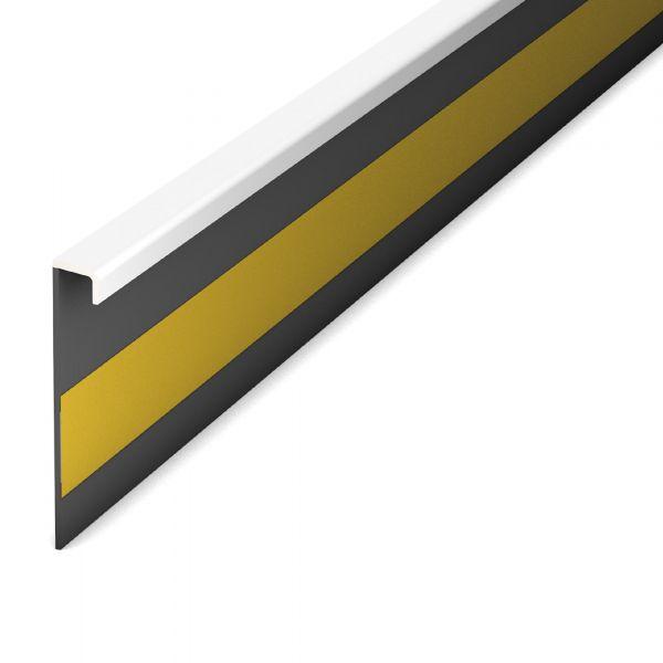 Teppich-Sockelleiste 810 Weiß 250 Selbstklebend