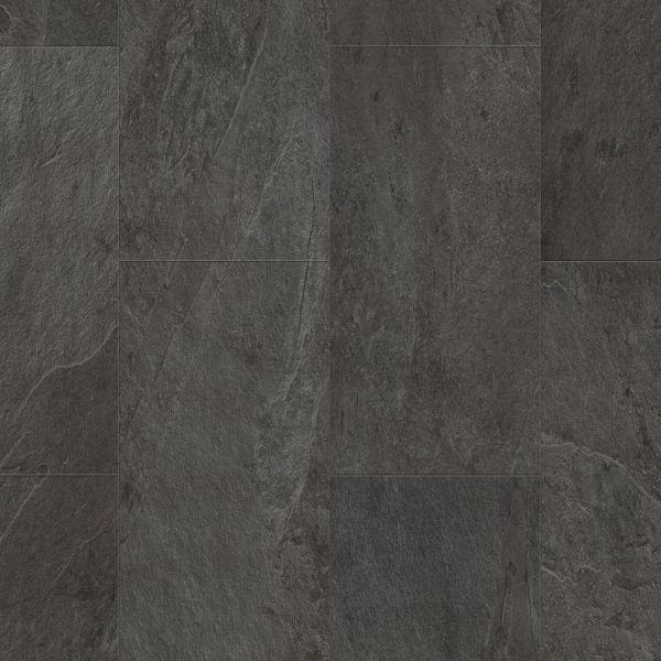 Schiefer Carbon - Tile/Stone Vinyl zum Klicken & Kleben