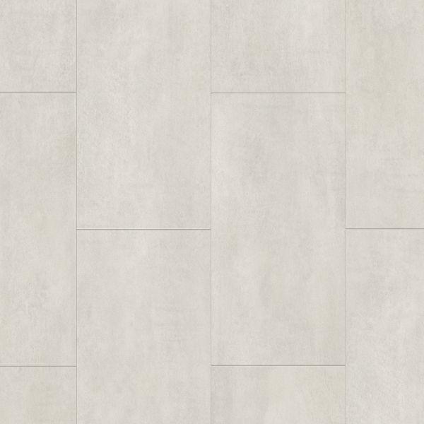 Beton Hellgrau - Tile/Stone Vinyl zum Klicken & Kleben