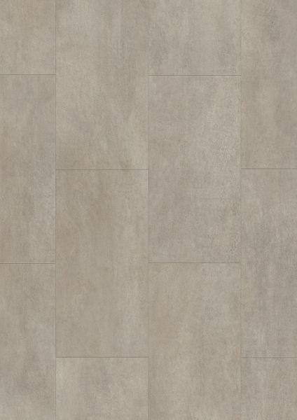 Beton Mittelgrau - Tile/Stone Rigid-Vinyl zum Klicken 5 mm