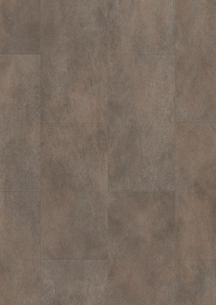 Beton Stahlbeton Oxidiert - Tile/Stone Rigid-Vinyl zum Klicken 5 mm