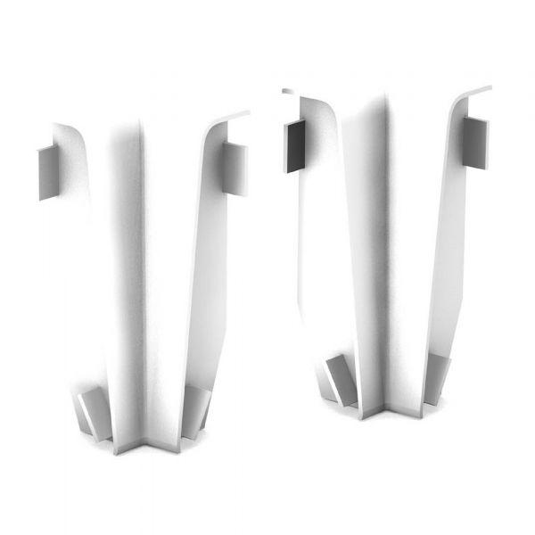 Innenecken für Sockelleiste 809 Weiß