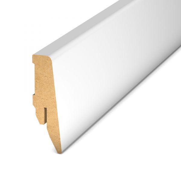Sockelleiste 809 Weiß MDF 250