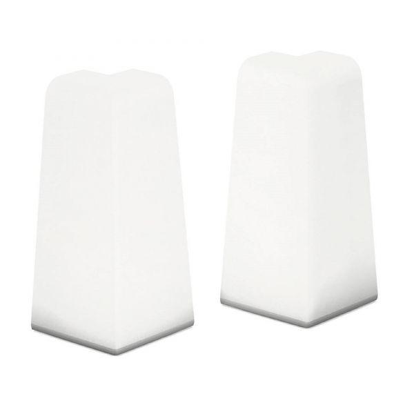 Aussenecken für Sockelleiste 809 Weiß