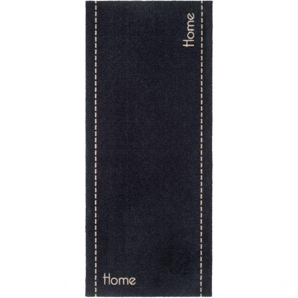 Fußmatte Home & Kitchen Universal Home Stitch Anthrazit 150 x 67cm Indoor
