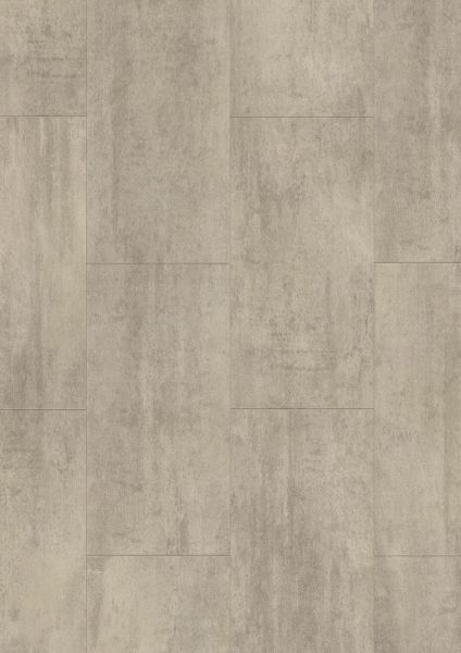 Travertin Hellgrau - Tile/Stone Rigid-Vinyl zum Klicken 5 mm