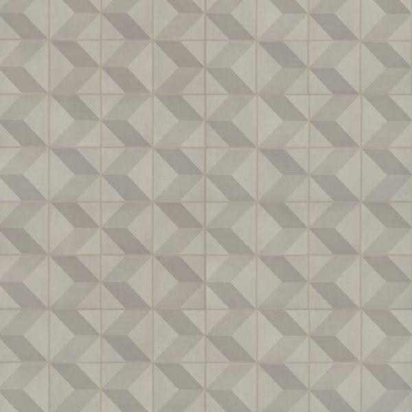 Cube 3D Grey - Starfloor Click 30 Vinyl zum Klicken 4 mm