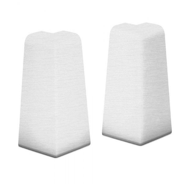 Aussenecken für Sockelleiste 809 Alu Gebürstet