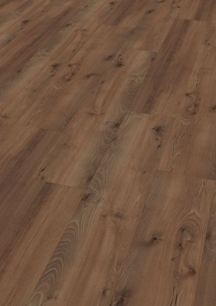 Village Oak Brown - Wineo 1500 Wood XL Bioboden zum Kleben 2,5 mm