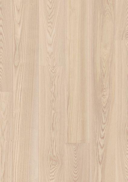 Esche Natur - Pergo Long Plank Laminat zum Klicken 9,5 mm
